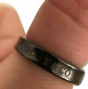 Tiffany & Co. Titanium Ring